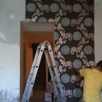 wallpapering service accrington